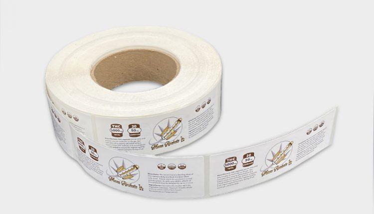 using brand label rolls